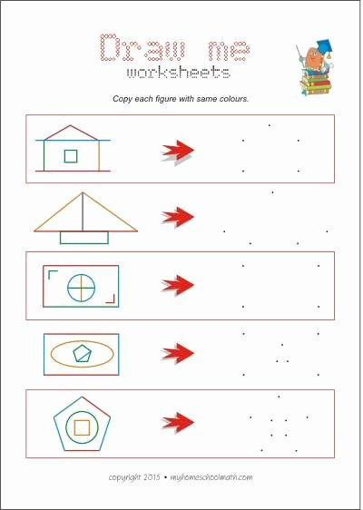 Eye Hand Coordination Worksheets for Preschoolers Printable Copying Activities are Excellent for Improving Hand Eye