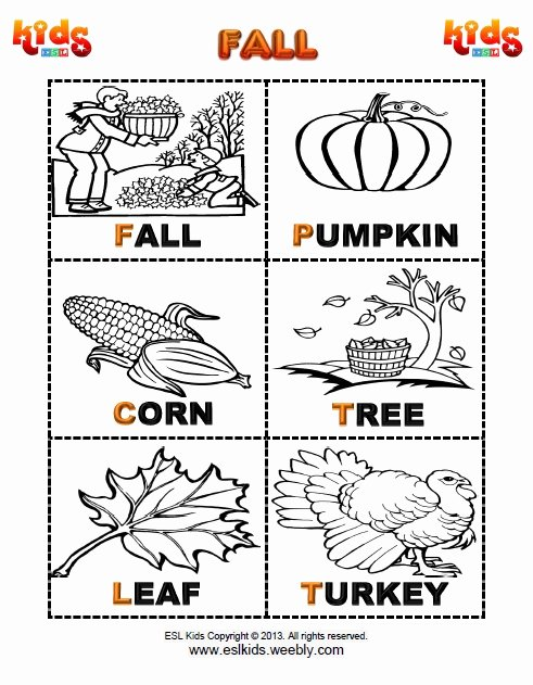 Fall Printable Worksheets for Preschoolers New Fall Activities Games and Worksheets for Kids