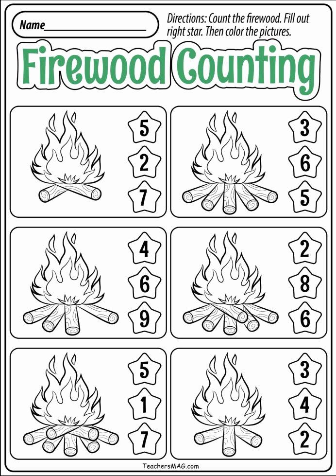 Fall Worksheets for Preschoolers Free Fresh Preschool Fall Math Worksheets Teachersmag Free Printable