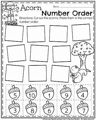 Fall Worksheets for Preschoolers Free Inspirational November Preschool Worksheets Planning Playtime