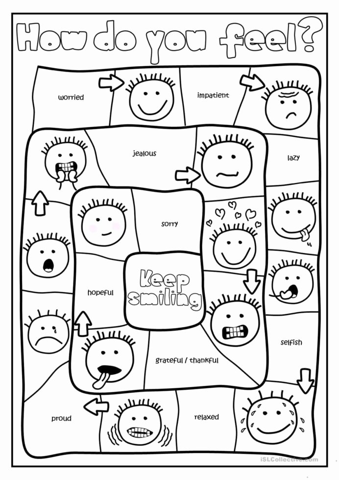 Feelings Worksheets for Preschoolers Best Of Free Printables and Activities Feelings Emotions