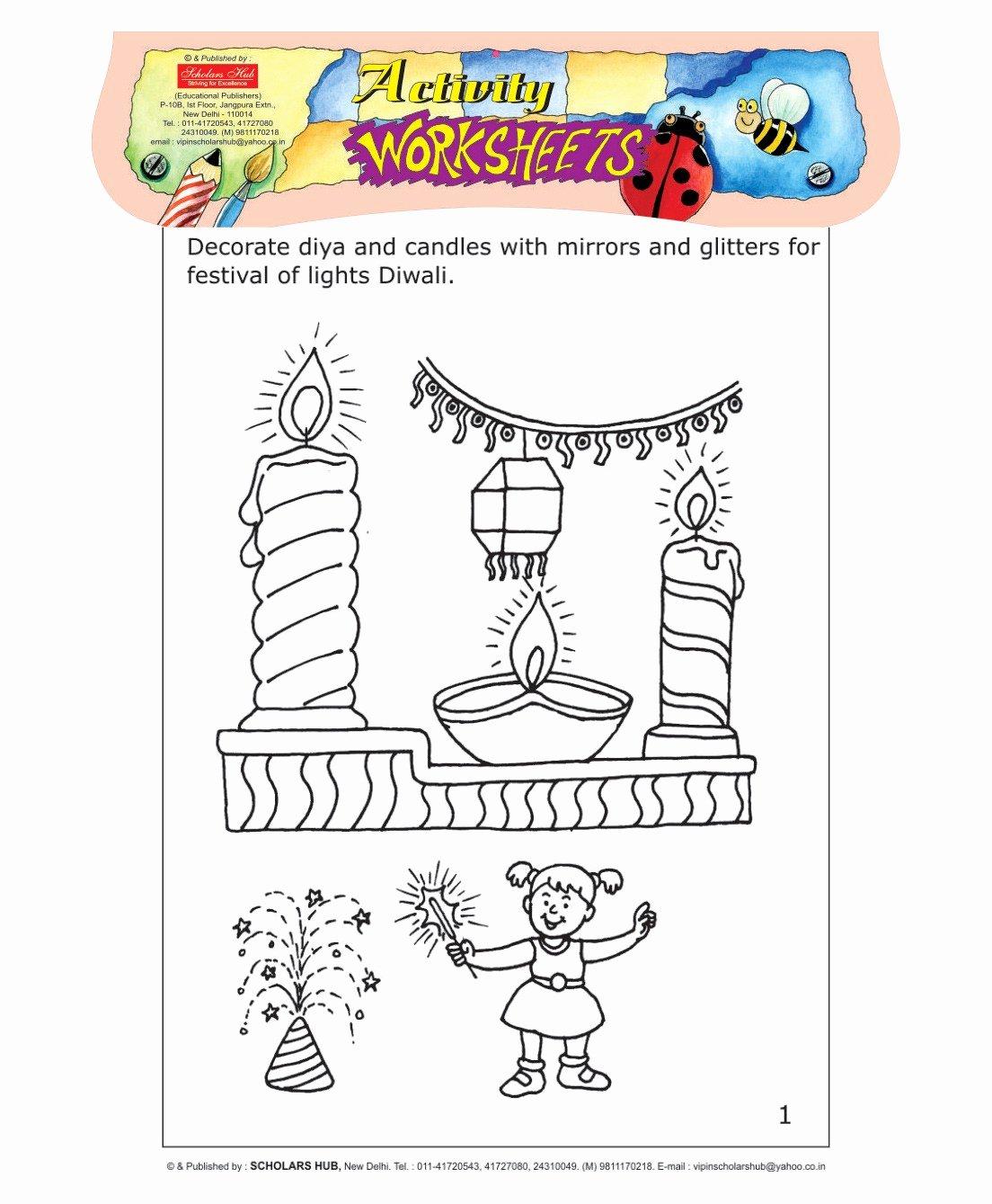 Festival Worksheets for Preschoolers Best Of Festival Worksheet