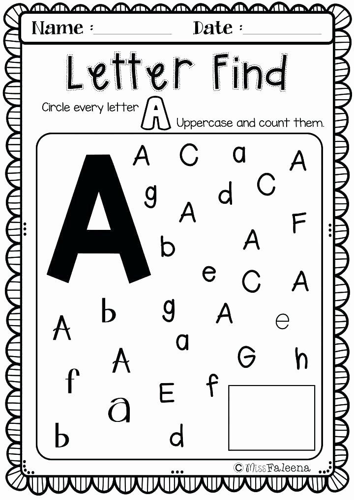 Find the Letter Worksheets for Preschoolers Ideas Worksheet Preker Worksheets Printable J Tracing for
