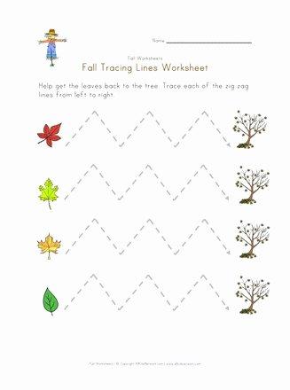 Fine Motor Skills Worksheets for Preschoolers Kids Fall Fine Motor Skills Worksheet