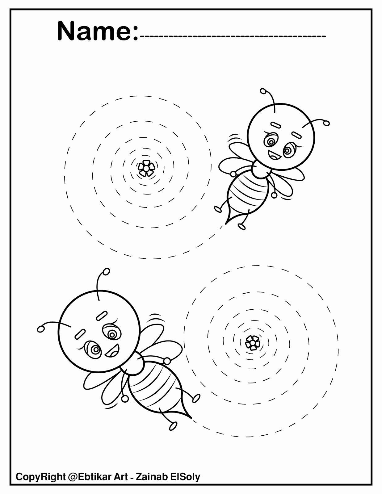 Fine Motor Skills Worksheets for Preschoolers Printable Worksheets Fine Motor Skills Tracing Lines Worksheets