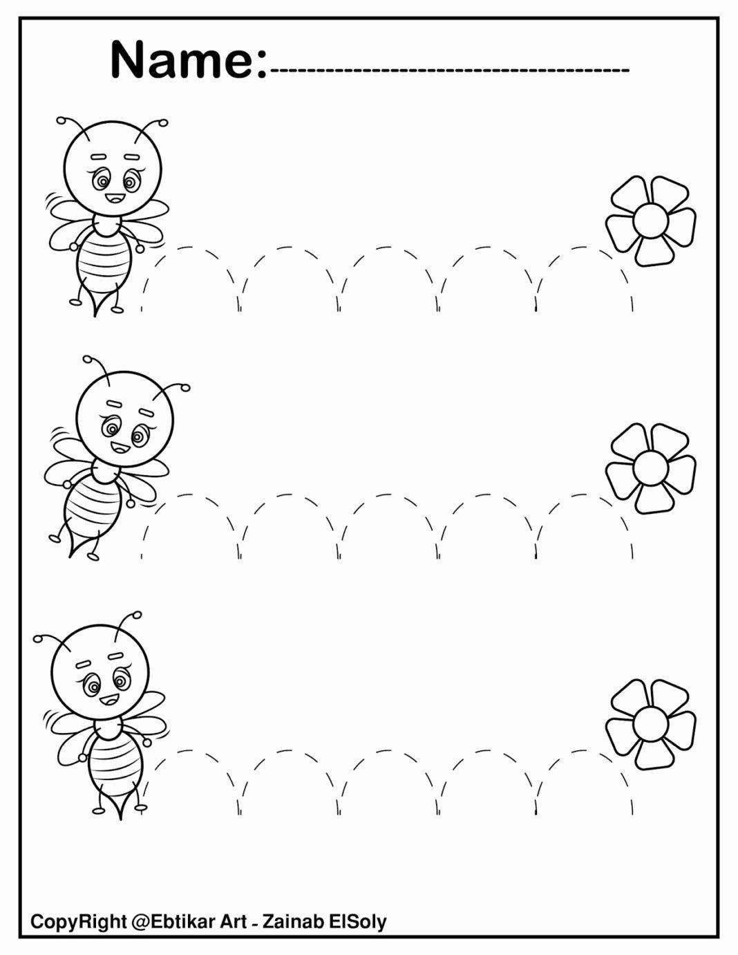 Fine Motor Worksheets for Preschoolers Free Worksheets Set Fine Motor Tracing Activity Writing for