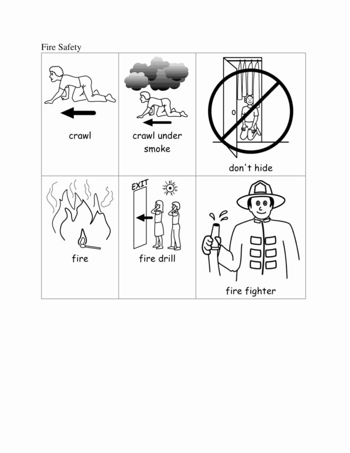 Fire Safety Worksheets for Preschoolers Free Fire Safety Kindergarten Special Education Munity Helper