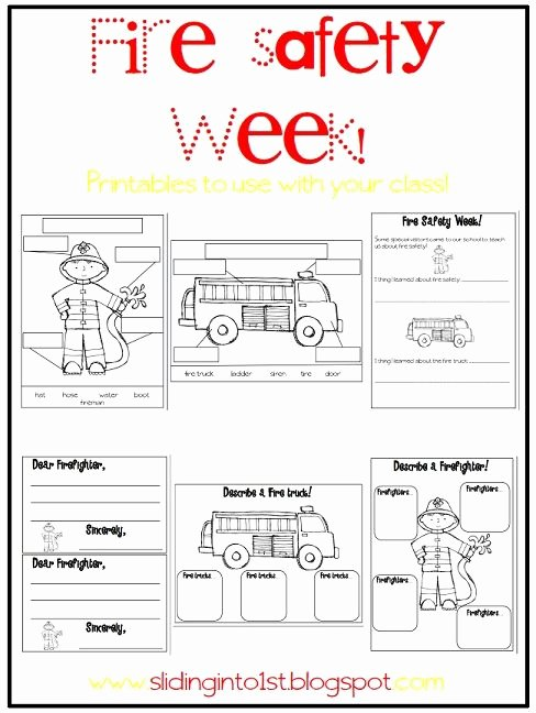 Fire Safety Worksheets for Preschoolers Ideas Halloween Fun & Fire Safety