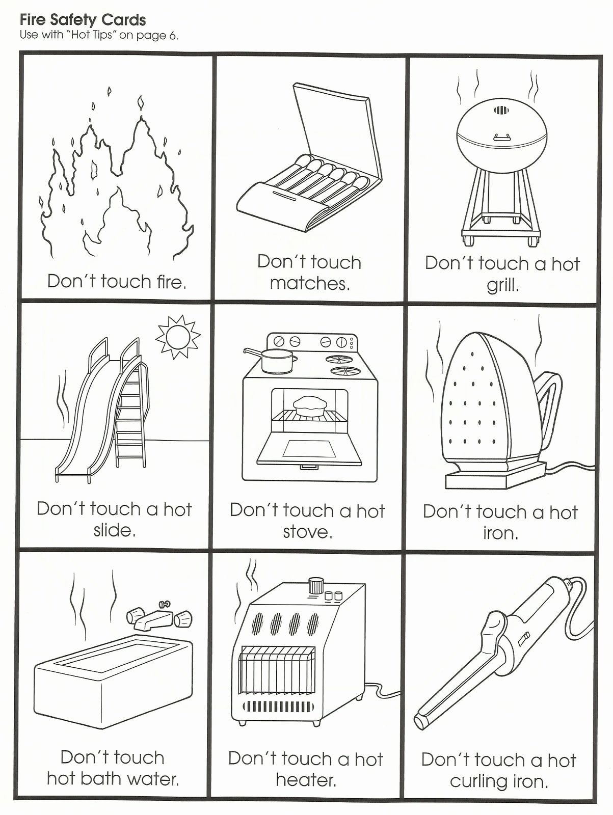 Fire Safety Worksheets for Preschoolers Ideas Squish Preschool Ideas Fire Safety