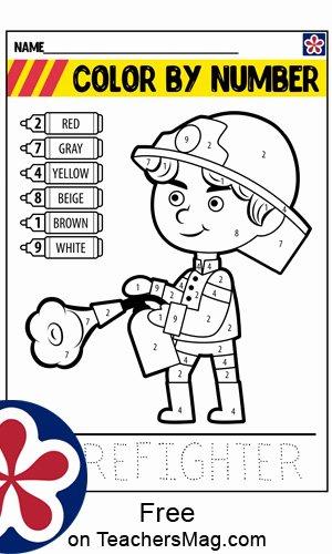 Firefighter Printable Worksheets for Preschoolers Best Of Free Firefighter Worksheets Teachersmag