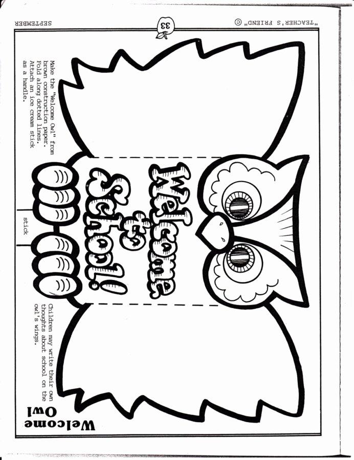 First Day Of School Worksheets for Preschoolers Kids Wel E Back to School Worksheets Printable Kindergarten