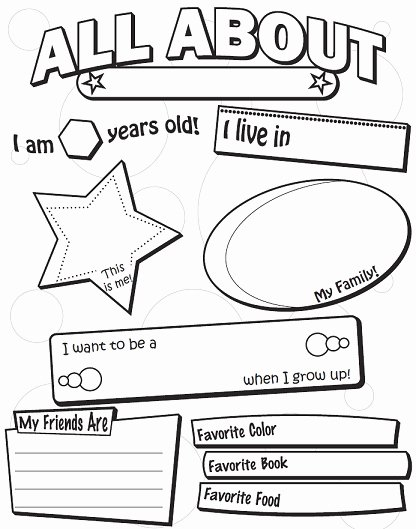 First Day Of School Worksheets for Preschoolers New Printable Back to School Worksheets