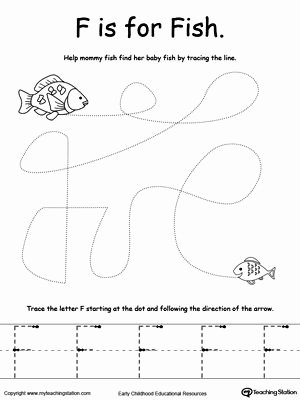 Fish Worksheets for Preschoolers Best Of Kindergarten Pre Writing Printable Worksheets