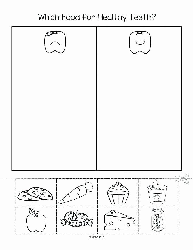 Food Worksheets for Preschoolers New Food Worksheets for Kindergarten – Dailycrazynews