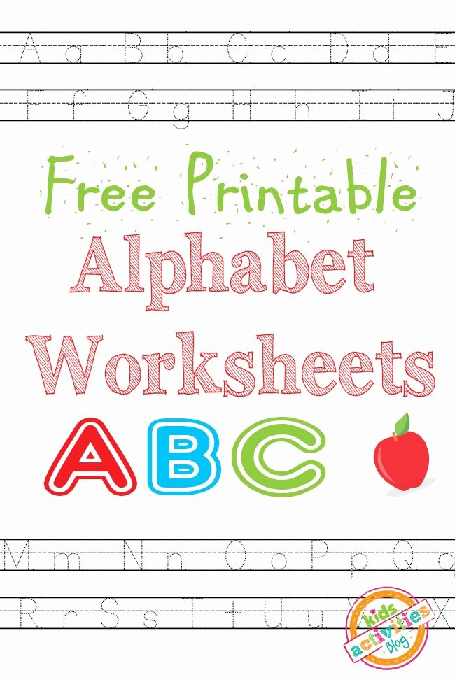 Free Abc Worksheets for Preschoolers Fresh Free Printables