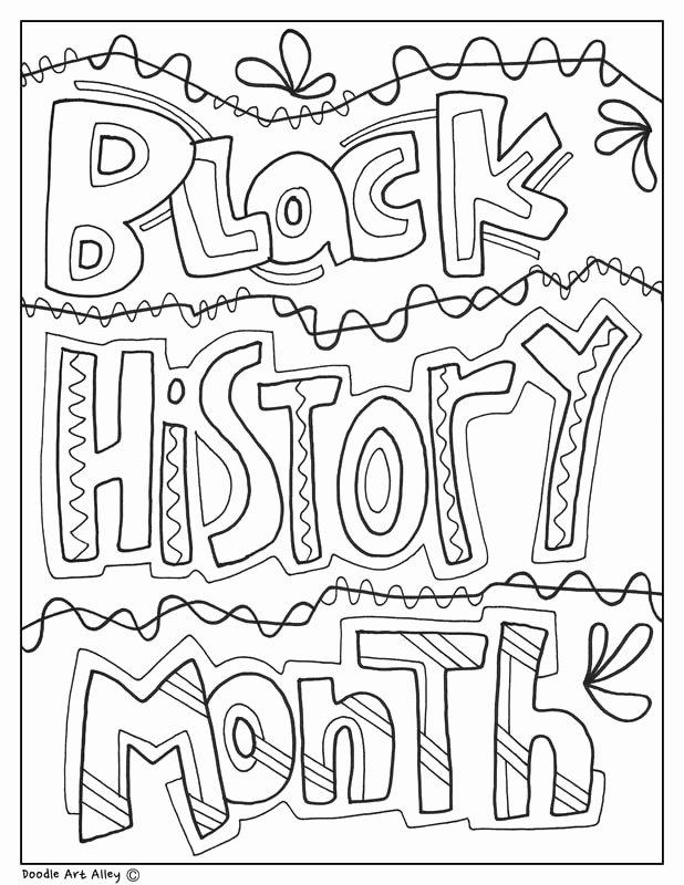 Free Black History Worksheets for Preschoolers Printable Black History Month Printables Classroom Doodles