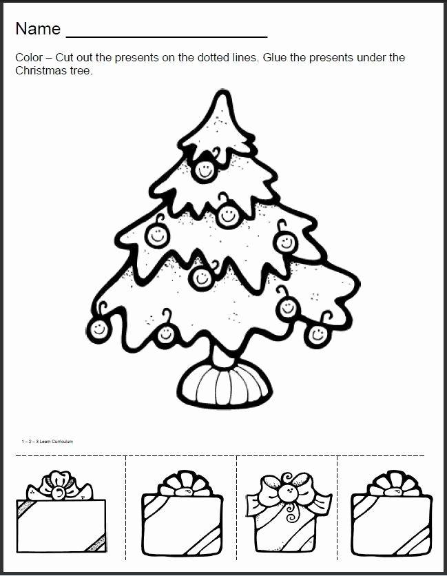 Free Christmas Worksheets for Preschoolers Inspirational 20 Christmas Worksheets for Preschoolers