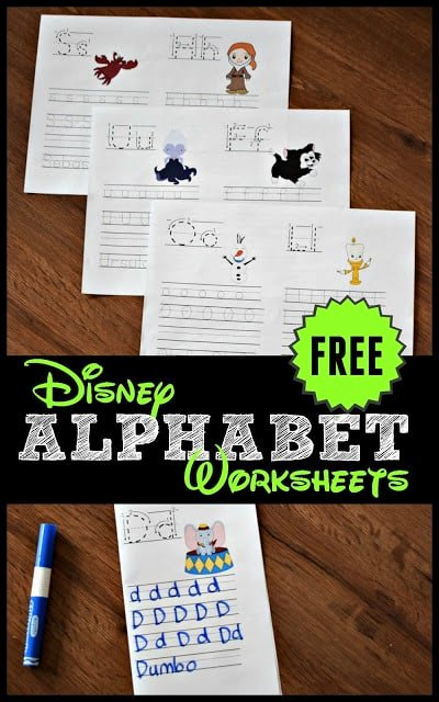 Free Disney Worksheets for Preschoolers Fresh Free Disney Alphabet Coloring Pages