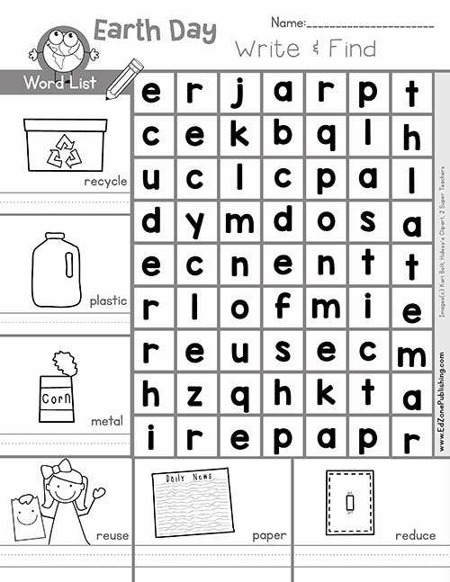Free Earth Day Worksheets for Preschoolers Best Of Free Earth Math Printable Worksheets for Kids Kindergarten