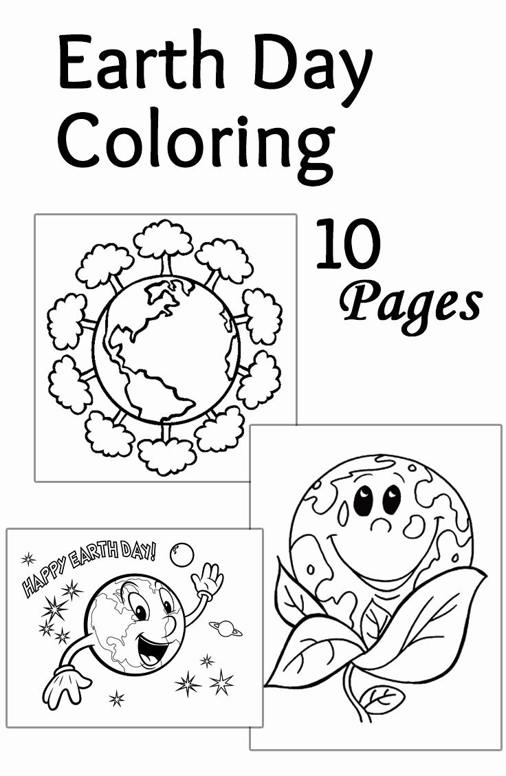 Free Earth Day Worksheets for Preschoolers Fresh Earth Day Printable Coloring Pages Preschool Worksheets for