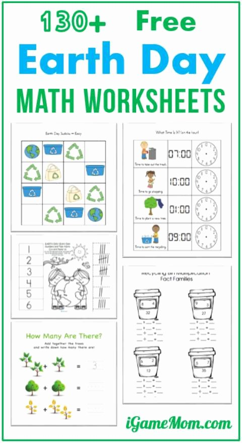 Free Earth Day Worksheets for Preschoolers Fresh Worksheet Math Sheets for Preschoolers Inspirations