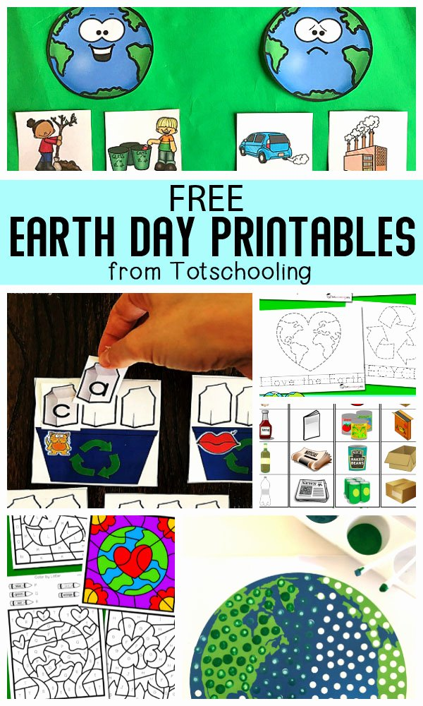 Free Earth Day Worksheets for Preschoolers New 20 Free Earth Day Printables for Kids