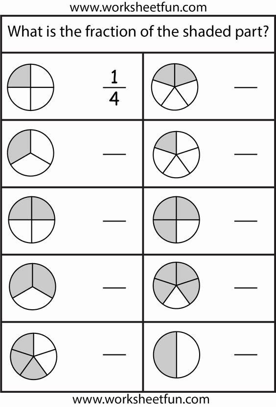 Free Fraction Worksheets for Preschoolers New Equivalent Fractions Worksheet Free Printable Worksheets