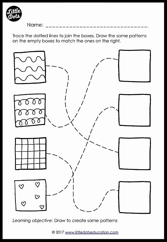 Free Matching Worksheets for Preschoolers Ideas Preschool Patterns Matching Worksheets and Activities