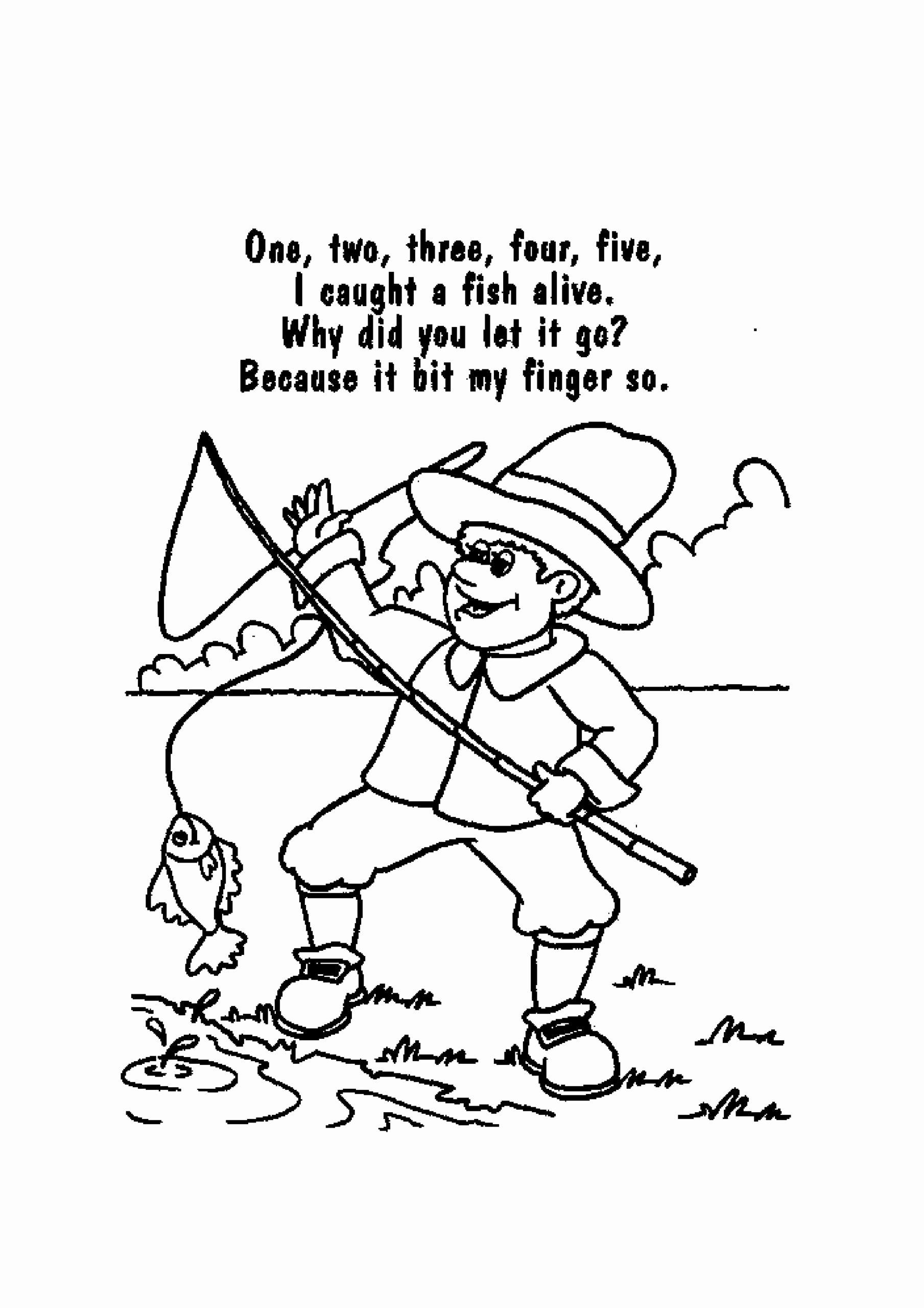 Free Nursery Rhymes Worksheets for Preschoolers Inspirational Color Poem Worksheet Printable Worksheets and Activities for