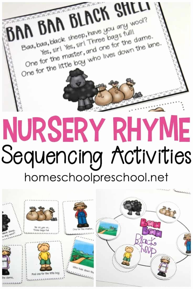 Free Nursery Rhymes Worksheets for Preschoolers Lovely Free Printable Nursery Rhyme Sequencing Cards and Posters