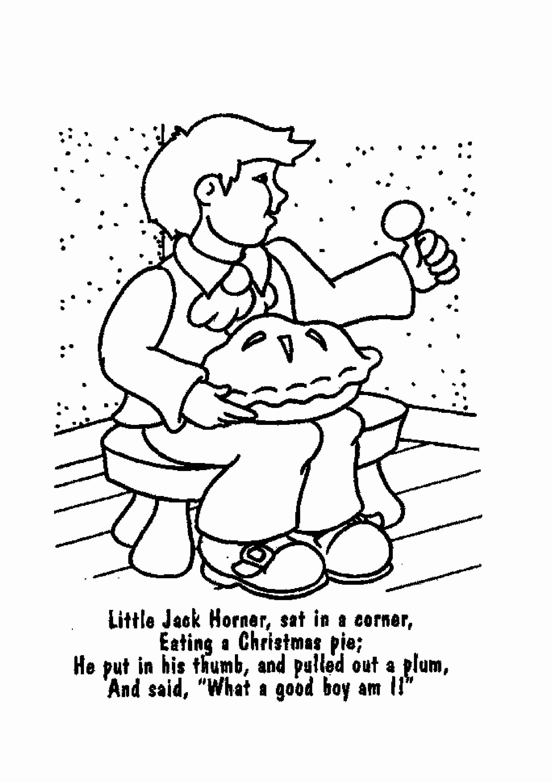 Free Nursery Rhymes Worksheets for Preschoolers New Nursery Rhymes Coloring Printable Free – Kingandsullivan