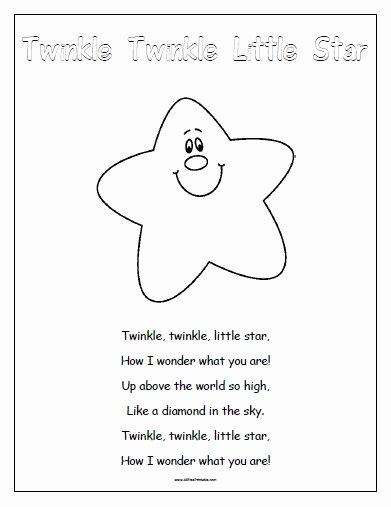 Free Nursery Rhymes Worksheets for Preschoolers New Nursery Rhymes Free Printable Allfreeprintable