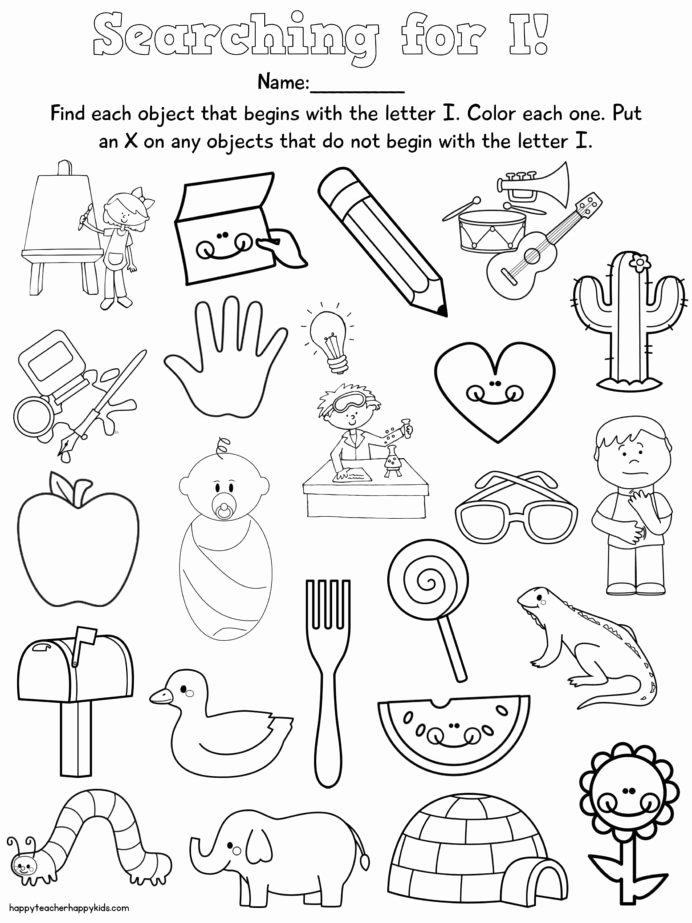 Free Nursery Rhymes Worksheets for Preschoolers New Worksheet Letter Free Nursery Rhymes Preschool