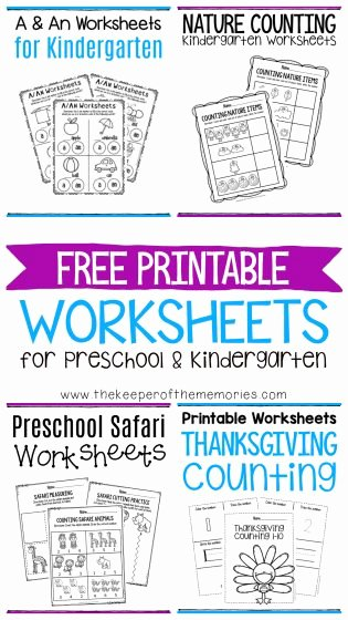 Free Printable A Worksheets for Preschoolers Lovely Free Printable Worksheets for Preschool & Kindergarten the