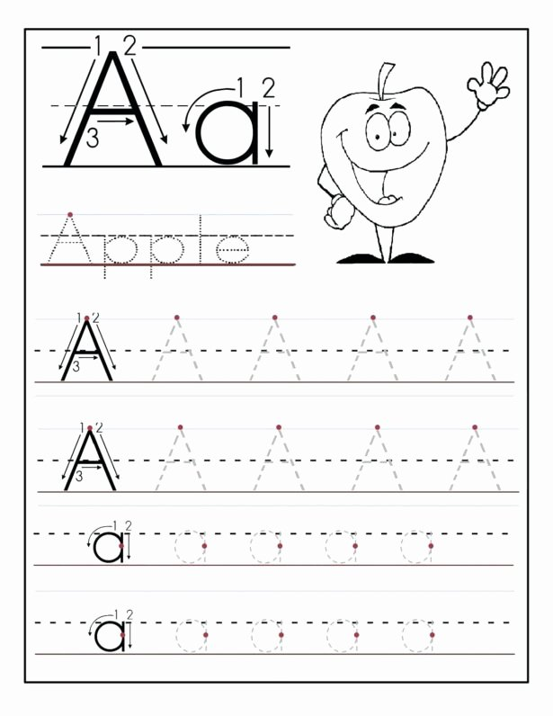 Free Printable Alphabet Worksheets for Preschoolers Inspirational Free Printable Preschool Worksheets Tracing Letters Pdf Free