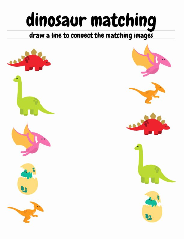 Free Printable Dinosaur Worksheets for Preschoolers Free Free Dinosaur Preschool Worksheets – the B Keeps Us Honest