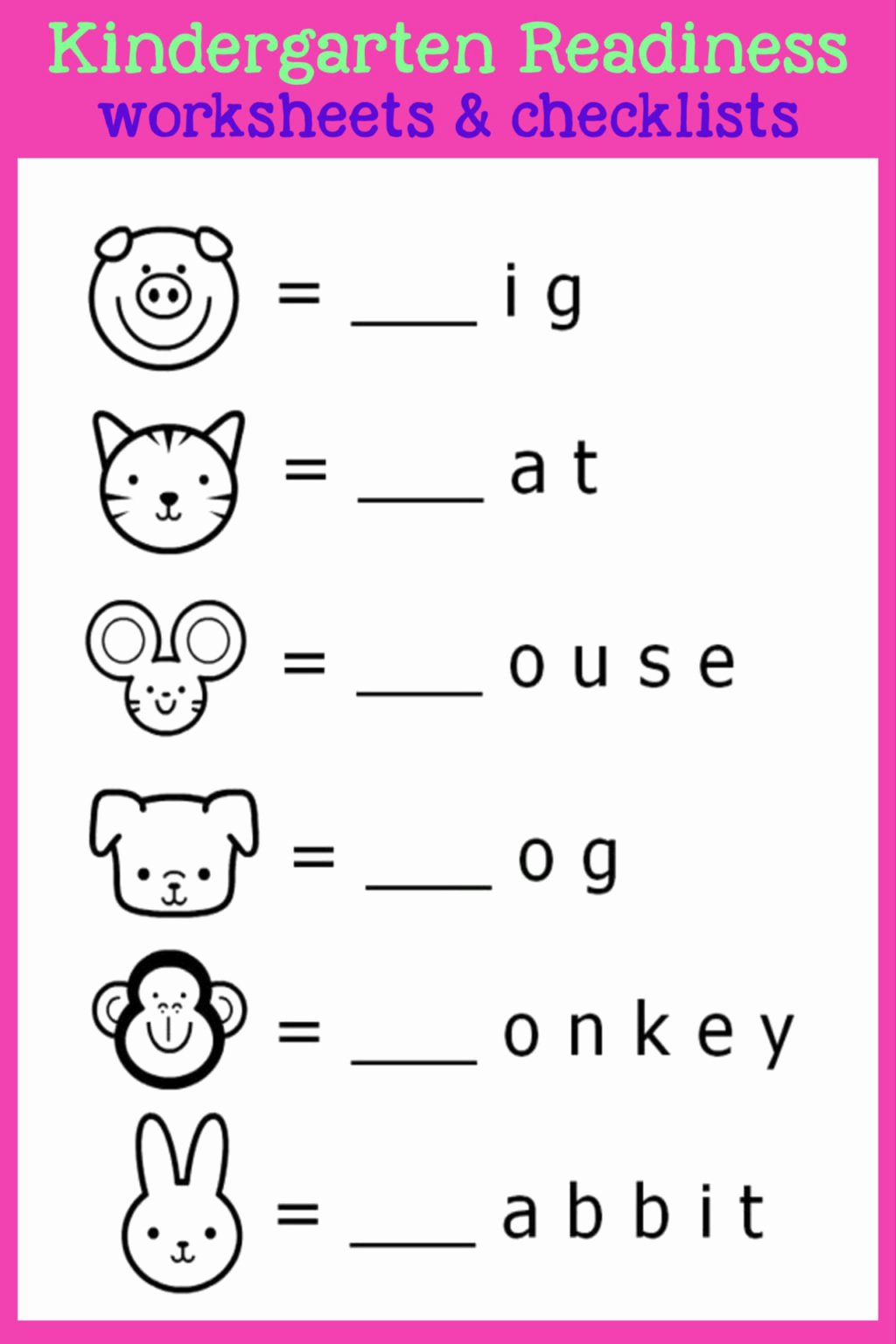 Free Printable Educational Worksheets for Preschoolers Ideas Worksheet Worksheet Kindergarten Readiness Activities