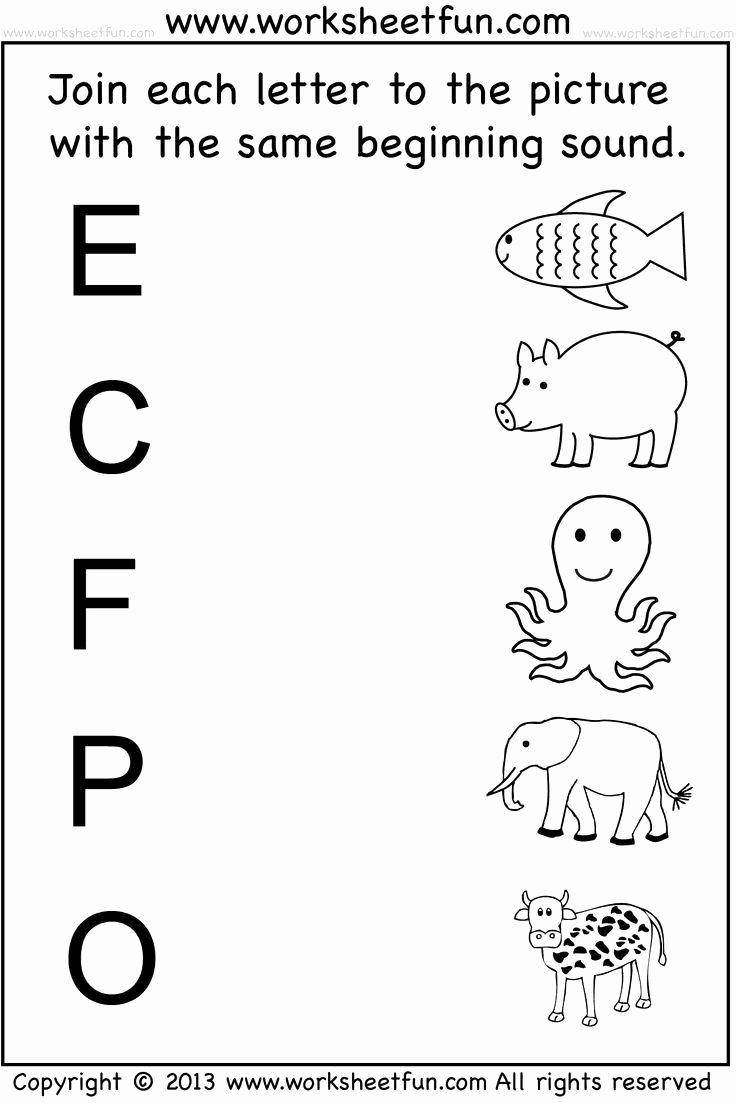 Free Printable English Worksheets for Preschoolers Inspirational Math Worksheet Preschool English Worksheets Free Printable