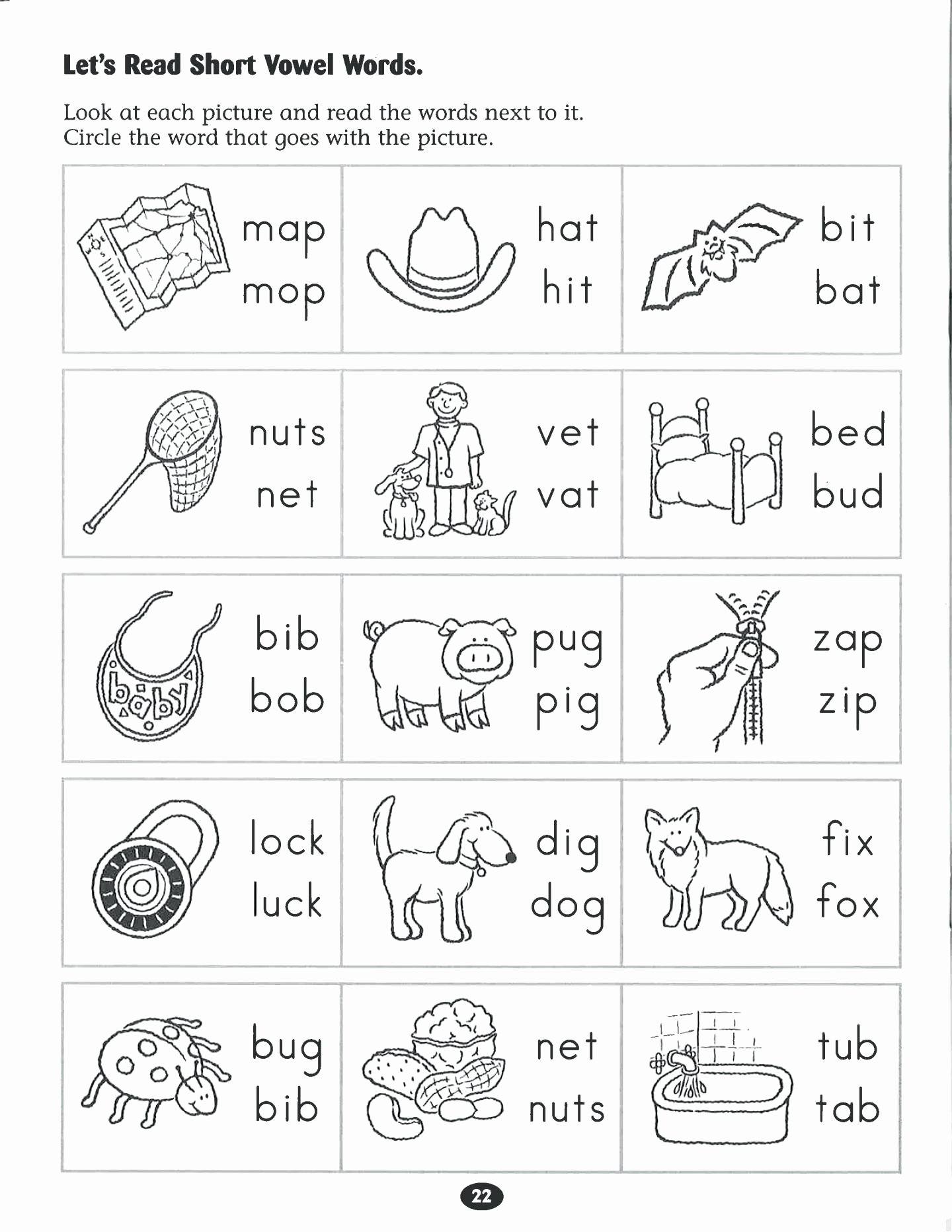 Free Printable English Worksheets for Preschoolers top Free English Worksheets for Kindergarten – Doctorbedancing