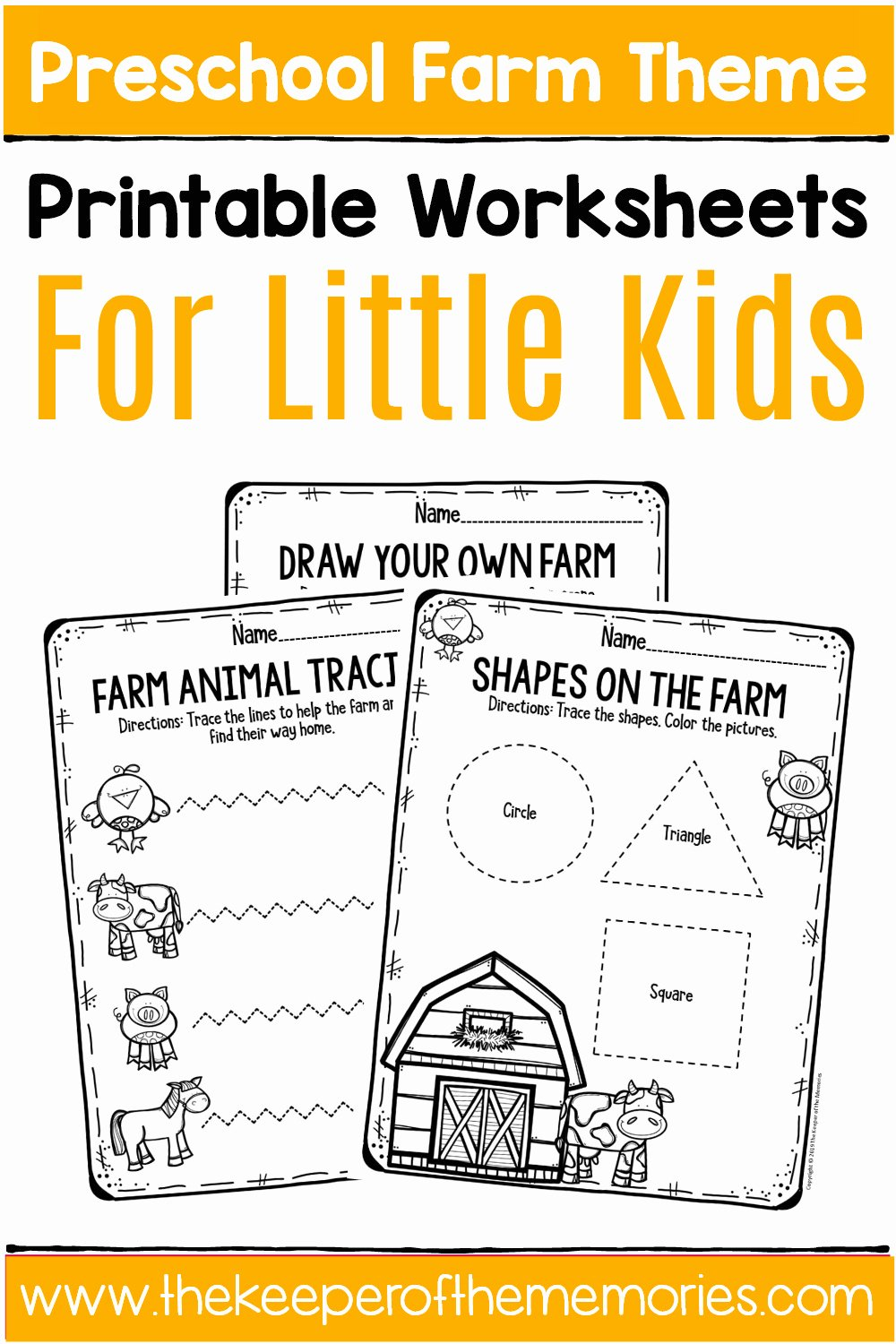 Free Printable Farm Worksheets for Preschoolers Lovely Free Printable Farm Preschool Worksheets the Keeper