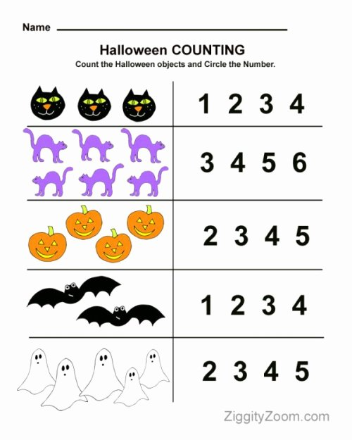 Free Printable Halloween Worksheets for Preschoolers Best Of Halloween Worksheets for Kids Line Signup Blog by Signup