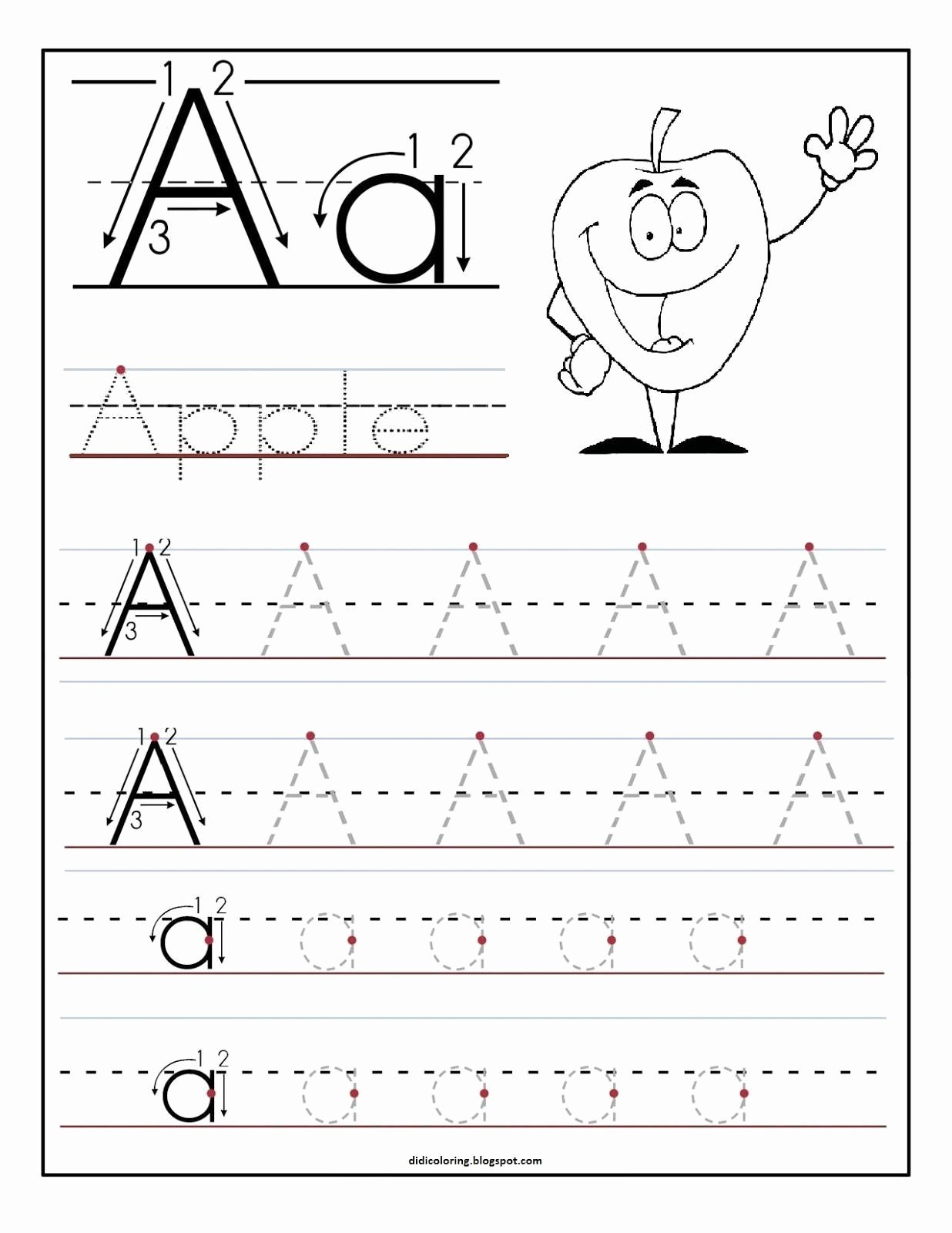 Free Printable Letter A Worksheets for Preschoolers Printable 16 Learning to Write Letters Free Printables