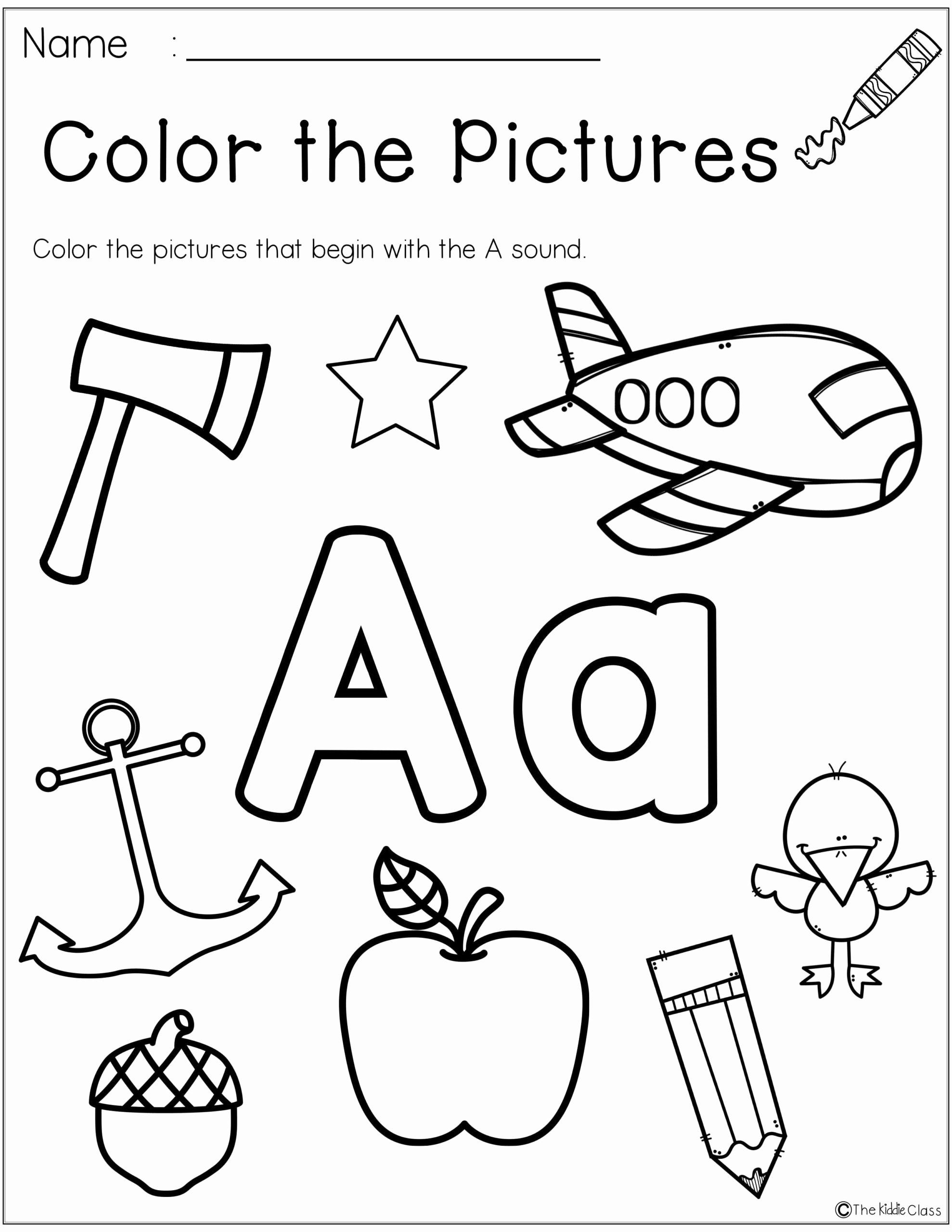 Free Printable Letter A Worksheets for Preschoolers top Worksheets Letter Worksheets for Preschool Printable and