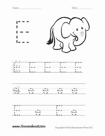 Free Printable Letter E Worksheets for Preschoolers Best Of Download Two Free Letter E Worksheets for Preschool Students
