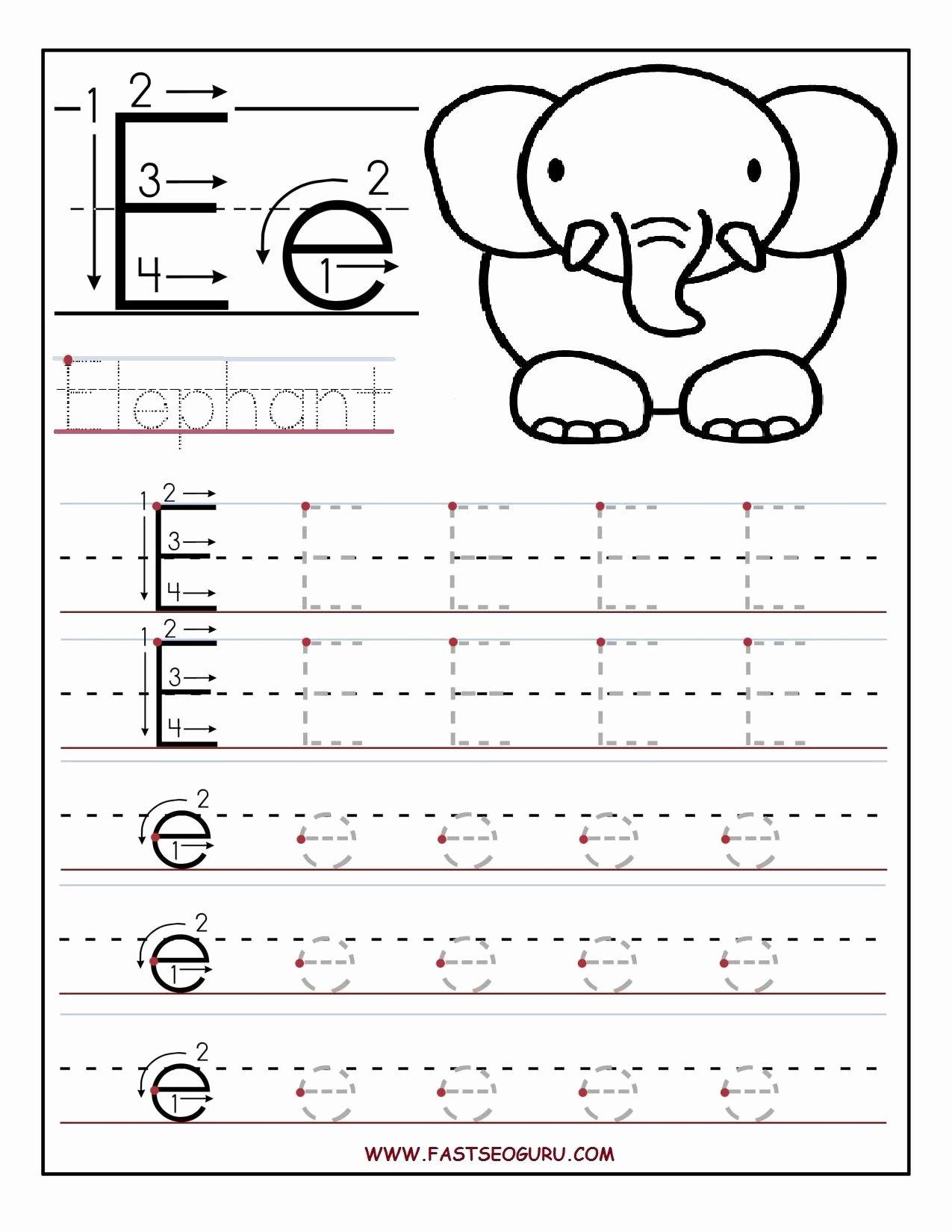 Free Printable Letter E Worksheets for Preschoolers Kids Letter E Worksheets S Newpcairport