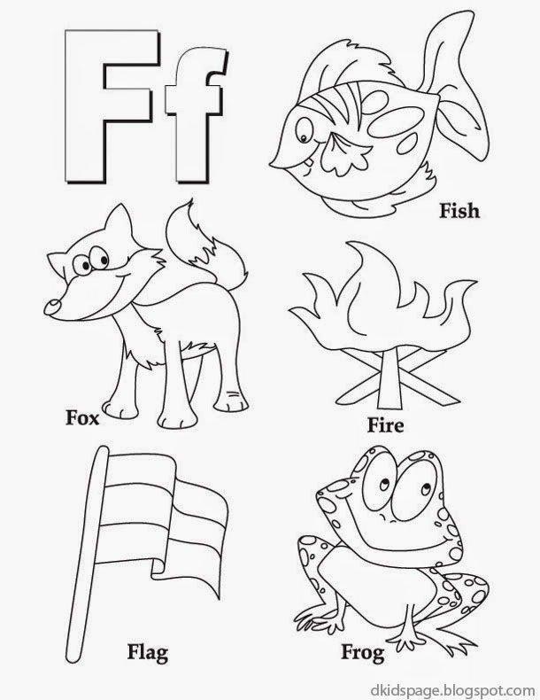 Free Printable Letter F Worksheets for Preschoolers New 8 Best Free Printable Alphabet Worksheets Letter F