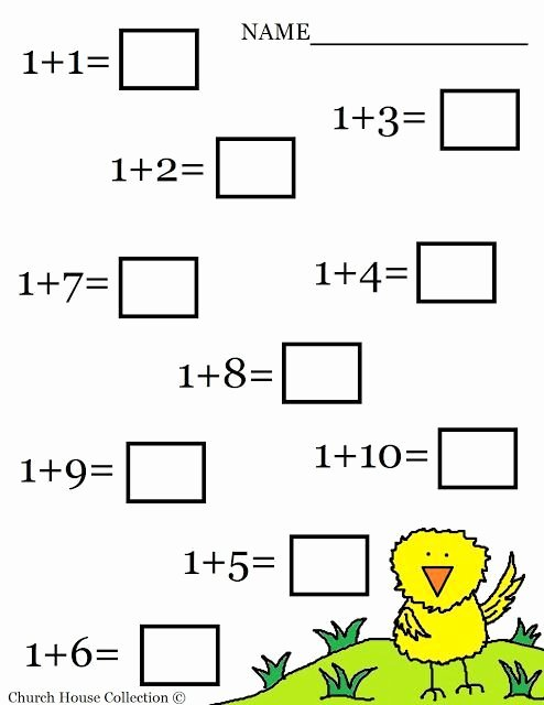Free Printable Math Worksheets for Preschoolers Fresh Addition Worksheets for Kindergarten Free Printables In 2020