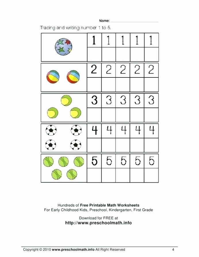 Free Printable Math Worksheets for Preschoolers Fresh Coloring Pages Free Name Tracing Worksheets for Preschool