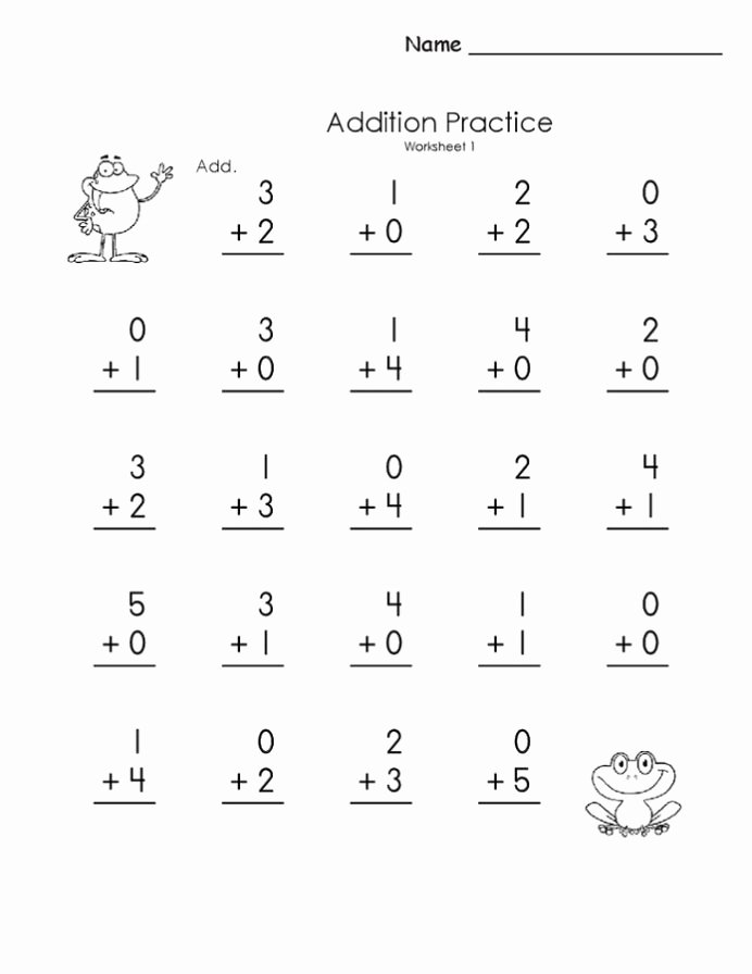 Free Printable Math Worksheets for Preschoolers Printable Free Printable Basic Math Worksheets Activity Shelter