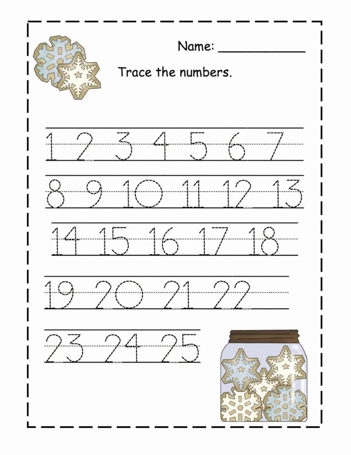 Free Printable Number Tracing Worksheets for Preschoolers Ideas Trace Numbers Activity Shelter Preschool Number Tracing